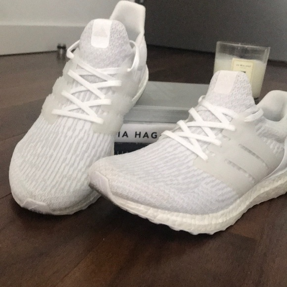 half off 01a60 2c067 adidas Other - Adidas Triple White Ultra Boost (Mens)